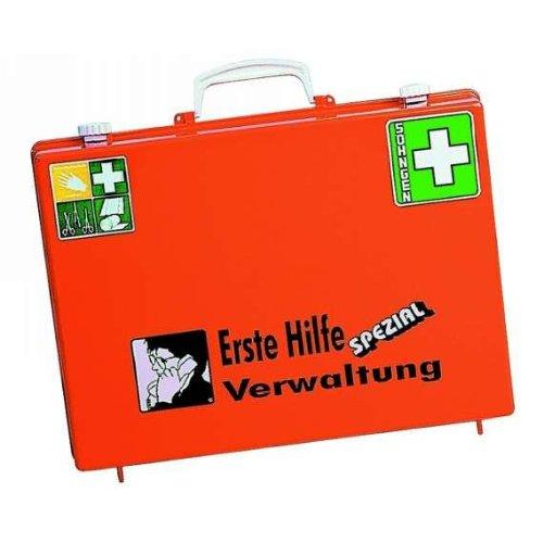 Preisvergleich Produktbild Söhngen 0360110 Erste-Hilfe-Koffer SPEZIAL,  Verwaltung,  B 400 x H 300 x T 150 mm,  orange
