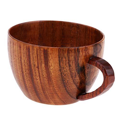 perfk Teetassen Handgemachte Holz Becher Geschenk für Familie und Freunde