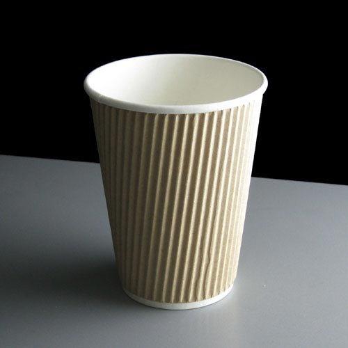 ignifuge rustique isotherme Boisson chaude Papier Kraft Tasse à café (Lot de 25)
