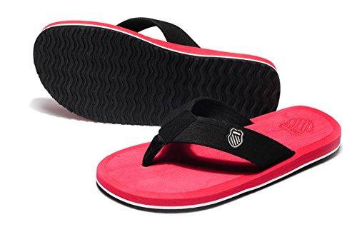 sandales d'été/Pantoufles occasionnels de dérapage pour hommes/Les chaussons semelle épaisse de plage/sandales A