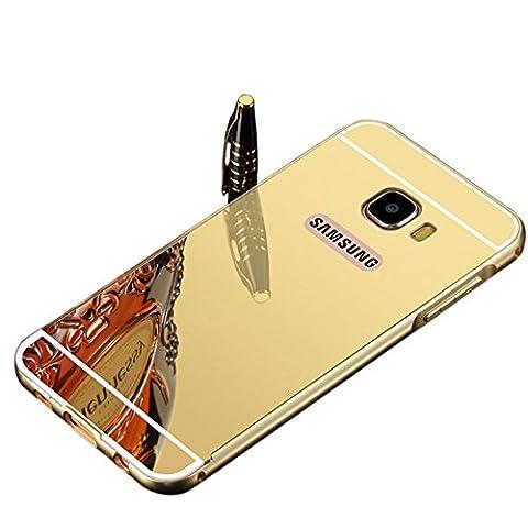 Vandot 2et1 Samsung Galaxy S7 Edge Coque Etui Luxe Miroir