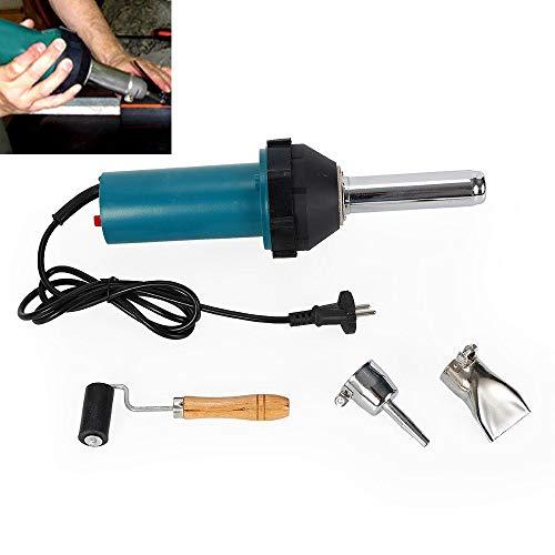 1080W 220V Heißluft Heißluftpistole Schweißbrenner Schweißgerät Schweißer Set