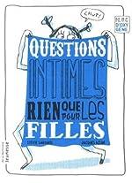 Questions intimes, rien que pour les filles de Sylvie Sargueil