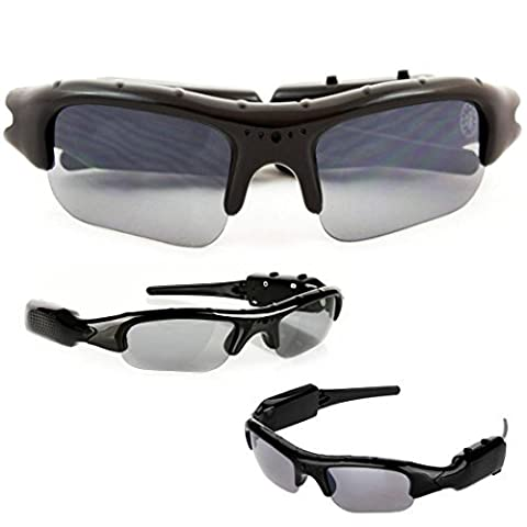 Spy Cam Spy Glasses - Best Wearable Technology Spy Gadget Available - 720p DVR With Hidden Camera & Webcam - Free Spy Camera Video Glasses Case & Cleaning Cloth - Money Back Guarantee by SpyCrushers