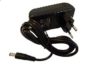 Bloc d'alimentation 22V vhbw 12W (12V/1A) pour DVE DSA-12G-12 FEU 120120 etc. pour TT-Micro, récepteur Technotrend.