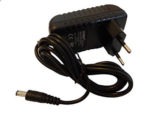 vhbw 220V Netzteil 12W (12V/1A) für Lolaloo Kinderwagenschaukler, Bosch, TT-Micro, Technotrend...