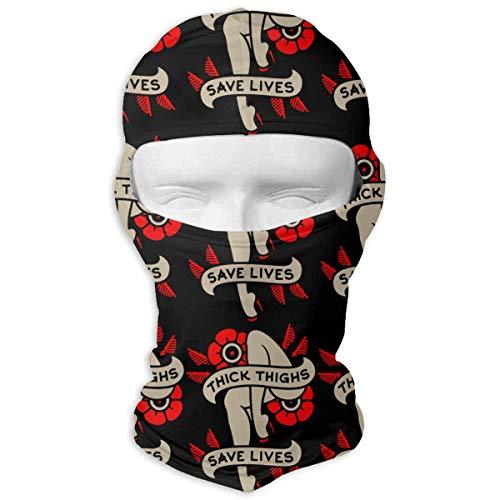 Jxrodekz Dicke Oberschenkel Leben retten Anti-Staub-Gesichtsmasken für Männer, Frauen, ()
