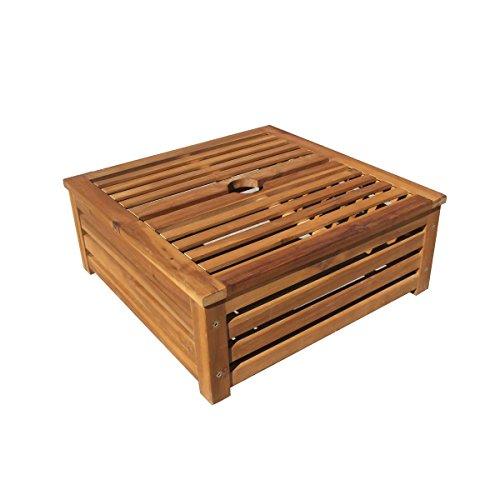 Benelando® Verkleidung aus Holz für Schirmständer