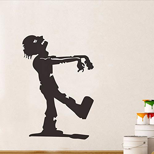 Jasonding Caminar Zombie La Momia Halloween Party Aufkleber Modernes Wandbild Für Kinder, Die In Einem Schlafsaal Untergebracht Sind. Dekoratives Für Hogar Papel Pintado Undurchlässig 44 * 63Cm
