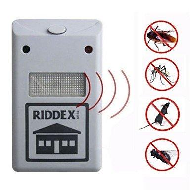 Pest Soldier Electronic Plug antiparasitaire antiparasitaire pour insectes - blanc