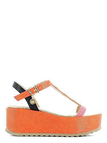 Gaudi V53 64062M Sandalo zeppa Donna Orange 36