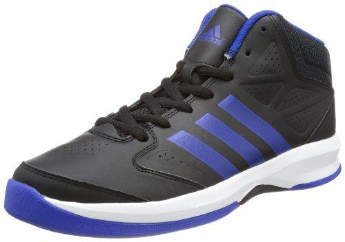 adidas Isolation, Baskets homme Noir - Schwarz (BLACK 1 / COLLEGIATE ROYAL / RUNNING WHITE FTW)