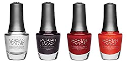 Morgan Taylor Chrome Collection Full Size Set 15 ml - 4-Piece