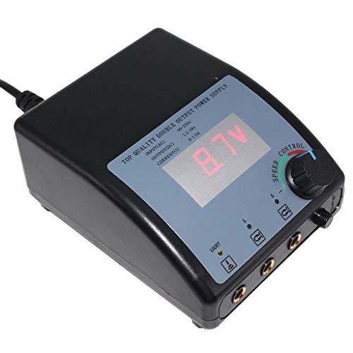 Tattoo Maschine Dual Stromversorgung Tattoo Kit Flache Pedal Greifer LCD Regler Heißer Form Drucker Kopierer