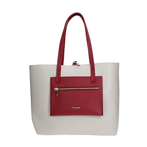 Pollini SC4521PP04SE11 Shopper Donna ICE/RED
