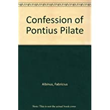 Confession of Pontius Pilate