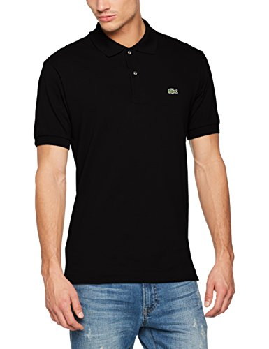 Lacoste - L1212 - Polo Homme, Noir, FR : X-Large (Taille fabricant : 6)