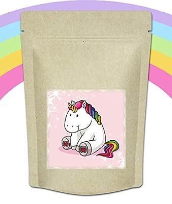 """Quertee® - Einhorntee """"Chill out"""" - Einhorn Tee - Der Einhorntrank für Einhorn Fans - Unicorn Tee - 70 g Loser Tee - Früchtetee von tee-markt24 auf Gewürze Shop"""