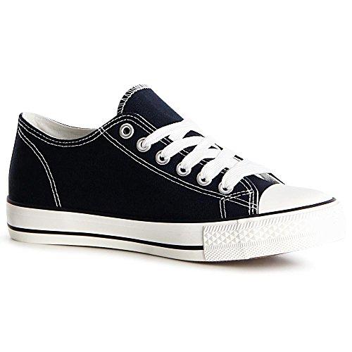 topschuhe24, Sneaker donna Blau