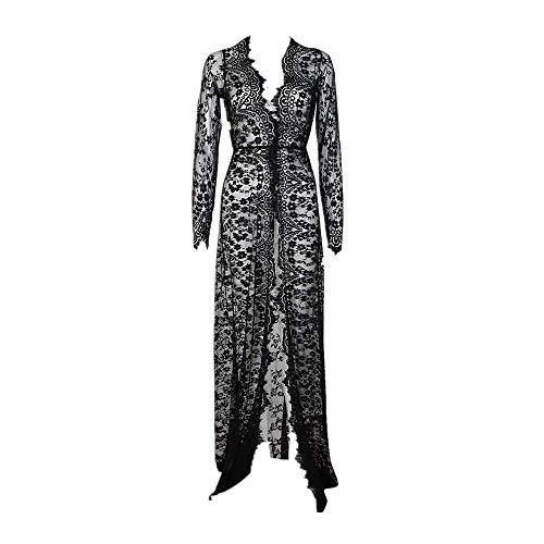 Jean Grey Kostüm Zubehör - Auied Schwangere Frauen Mode Lace Langarm Abendkleid