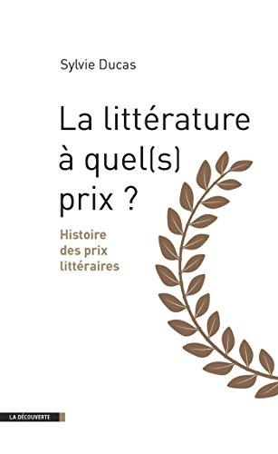 La littérature à quel(s) prix ?
