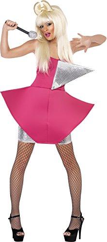 (Smiffys - Divakostüm Kostüm Diva Tänzerinkostüm Tänzerin sexy glamour Gr. 34 (XS)