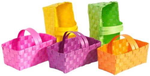 Brauns-heitmann 62523 - set da 5 cestini regalo, 16 x 8 x 7,5 cm, in colori assortiti