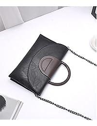 MOCA' Premium Lux PU Leather Envelope Handbag Crossbody Bag Side Bag Sling Bag Shoulder Bag Messenger Bag For...