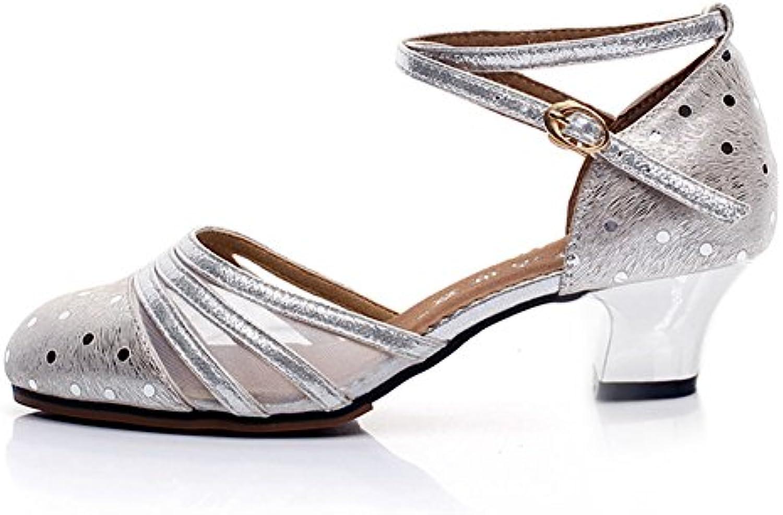 MUYII Zapatos De Mujer Con Zapatos De Tacón Alto,Black-41 41|Black