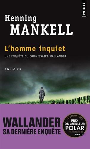 L'Homme Inquiet par Henning Mankell