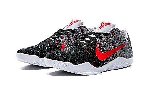 Nike Kobe Xi Elite Low, Scarpe da Basket Uomo Grigio