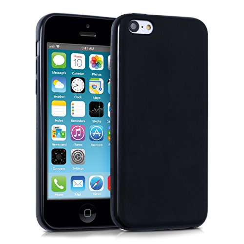kwmobile Apple iPhone 5C Hülle - Handyhülle für Apple iPhone 5C - Handy Case in Schwarz matt