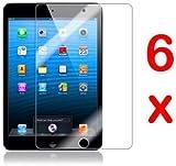GadgetinBox Pack of 6 Screen Protectors for New Apple iPad Mini