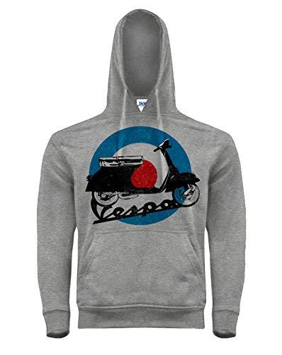 Camiseta Bien Impresa Sudadera Vespa (XXL)