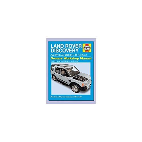 Revue Technique Haynes en ENGLAIS por Discovery Depuis 2004 A 2009 TD6 pour Land Rover - DA4505