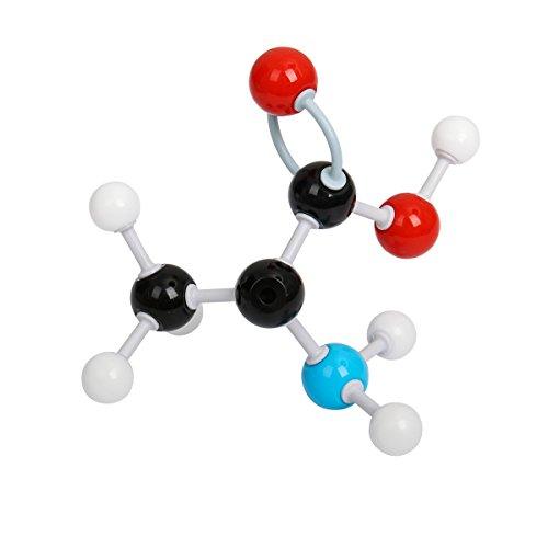 Cusfull Molekulares Modell Molecular Model Student Set für Organische & Anorganische Chemie (86 Atome, 153 Verbindungen)