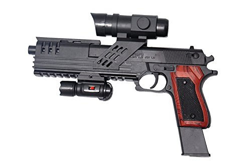 Babytintin Plastic SP3 Air Soft Gun with 6mm BB Bullet Toy Model Gun for Kids with 6mm BB Bullet (SP3-81)