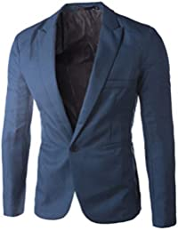 BaZhaHei Invierno Abrigo Casual Sudadera de Capa Jacket Parka Pullover un botón Traje Blazer Abrigo Chaqueta Tops Hombres Moda…
