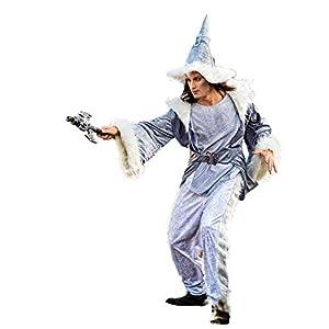 Limit Sport - Disfraz de brujo mago Adalgis, para adultos, talla L (MA502)