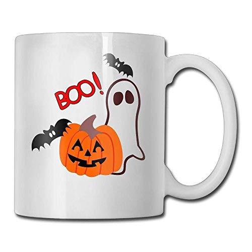Boo Halloween 11oz Ceramic Coffee Mug Unique Birthday Christmas and Inspirational Gift