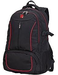 Soarpop multifuncional de negocios Mochila para portátil, de gran tamaño bolsa Mochila Estudiante clásica, Mochila al aire libre para ciclistas / Camping y viaje diario
