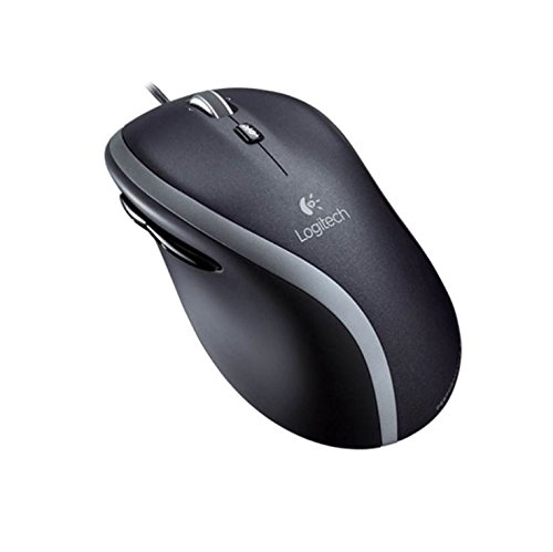 Logitech M500 Corded Mouse Scroll-Rad, PC-Maus, PC/Mac, 4-Wege - Laser Gaming Mouse Scroll