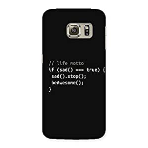 Enticing Programer Life Back Case Cover for Samsung Galaxy S6 Edge Plus