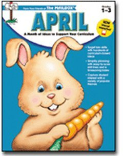 April Monthly Idea Book Internet Interactive Grades 1-3 by Mailbox Book -