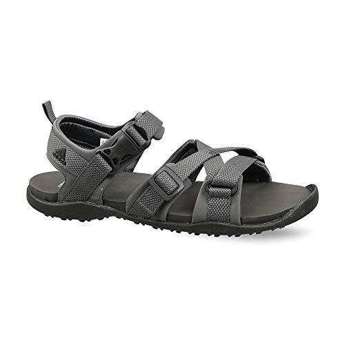 Adidas Men's Gladi II GRESIX/CBLACK/CGRANI Floaters-9 UK (43 1/3 EU) (9.5 US) (CL9953)