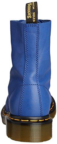 Dr. Martens Pascal Virginia Wild Blue, chaussures bateau femme Bleu - Blau (Wild Blue)