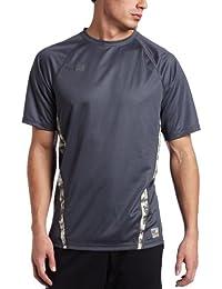 4c24b06ae562e Soffe XT-46 Men's Loose Fit Insert Short Sleeve Combat T-shirt Gun Metal