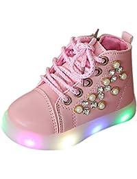 Amazon.it  Rosa - Espadrillas basse   Scarpe per bambini e ragazzi ... 3b61a3b30ac