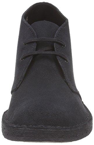 Clarks Originals - Desert Boot - Chaussures de ville à lacets Bleu (Navy Suede)