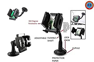 PR Mobile Holder Stand 360 Degree Rotating Flexible Adjustable For All Phone Sizes, Mobile or GPS-Ford Endeavour Type 1 (2004-2007)